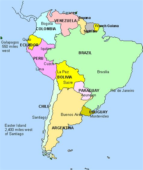 south america map with states and capitals kmhouseindia and venezuelan news