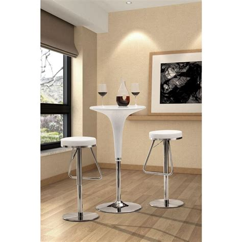 Zuo Bar Stool by Zuo Soda 31 In Chrome Cushioned Bar Stool 300251 The