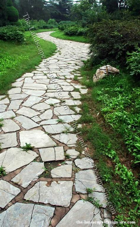 paths design inexpensive walkways and paths flagstone garden