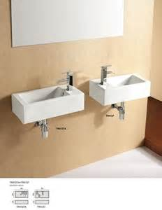 powder room basins rectangular wall hung powder room basin auction 0021