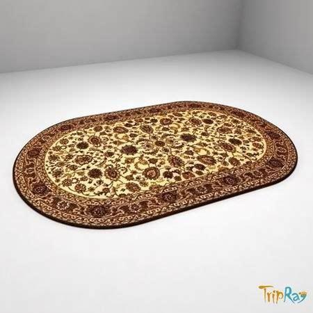 Karpet Oval oval carpet 3ds