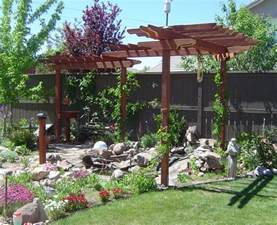 Arbor Pergola by Meadowsweet Cottage A Shady Pergola