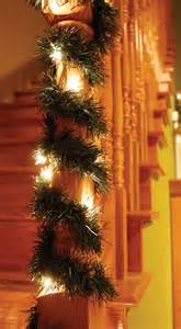 prelit lifelike pine garland adds elegance to any home