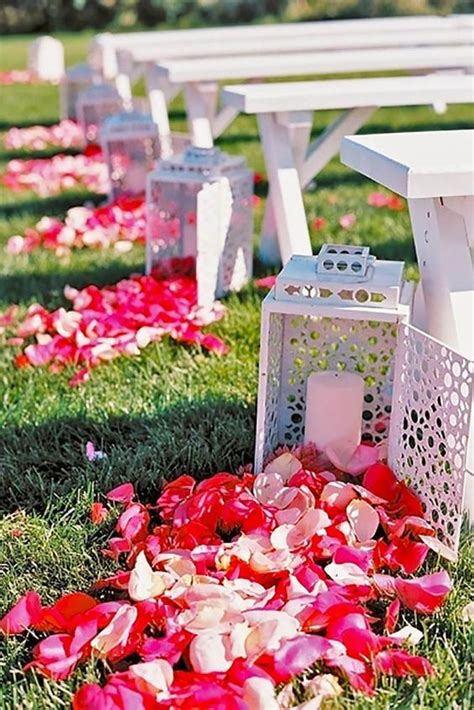 Wedding Aisle Decorations Nz by 100 Awesome Outdoor Wedding Aisles You Ll Outdoor
