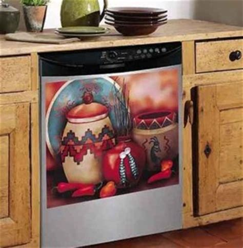 southwestern adobe decor dishwasher magnet front cover ebay