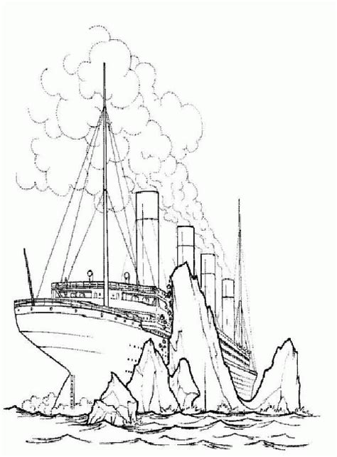 titanic coloring pages for kids coloringpagesabc com