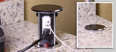 Pop Up Receptacles Kitchen Countertop by Floor Boxes Lew Electric Fittings Company