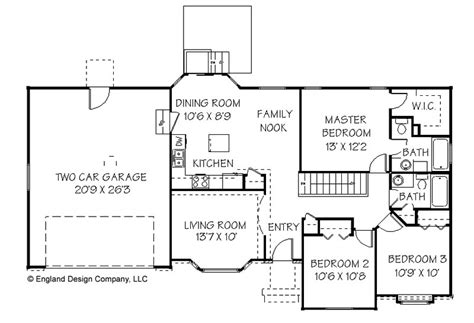 Simple Ranch House Floor Plans | simple ranch house plans find house plans