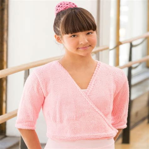 ballet cardigan knitting pattern child free precision wrap sweater