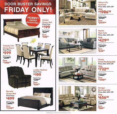 black friday couch deals ashley furniture 2015 black friday ad black friday