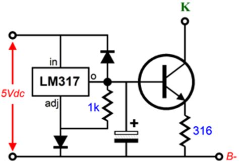lm317 capacitor calculator lm317 output capacitor esr 28 images op problems controlling an lm317 with an op electrical