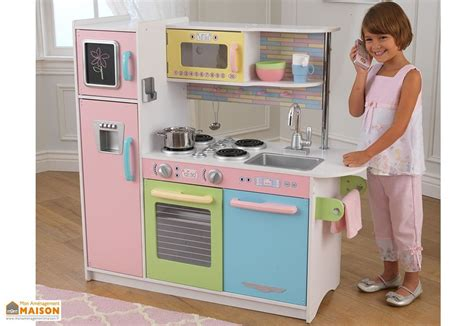 cuisine enfant 4 ans cuisine en bois pour enfants uptown pastel 1 m kidkraft