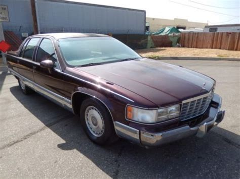 how to learn all about cars 1993 cadillac deville free book repair manuals purchase used 1993 cadillac fleetwood brougham 5 7 v8 rw drive all original future lowrider