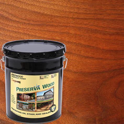 preserva wood  gal oil based redwood penetrating