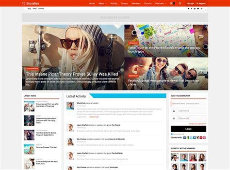 wordpress tutorial social network 15 best wordpress social network themes for 2018 siteturner