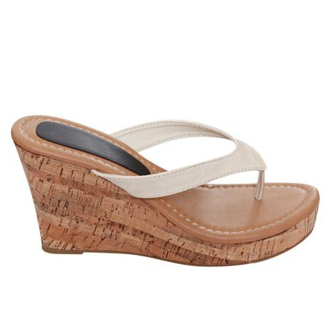 Wedge Flip Flops platform flip flop sandals 28 images black wedge