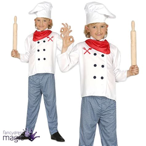 Cooked Clothes It Or It by Childs Boys Master Chef Cook Career Play