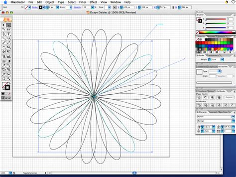 tutorial illustrator easy adobe illustrator very simple tutorial oxeye daisies