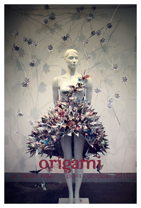 Window Origami - origami window display by jaaadey on deviantart