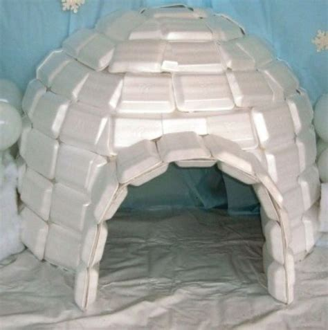 How To Make Igloo With Paper - 17 best ideas about milk jug igloo on milk jug