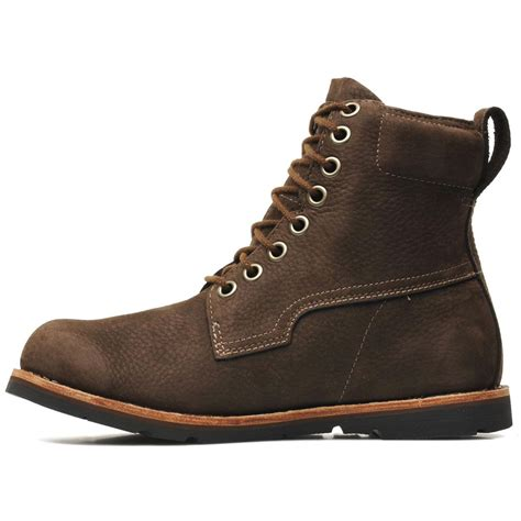mens earthkeeper boots timberland earthkeepers ruglt wp brown mens boots ebay