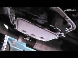 transmission fluid change band adjustment dodge ram 1500