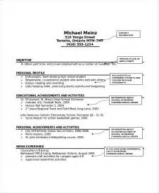 Babysitter Resume Samples Babysitter Resume Template 6 Free Word Pdf Documents