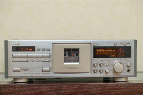 teac cassette deck teac v 7000 stereo cassette deck platine cassette