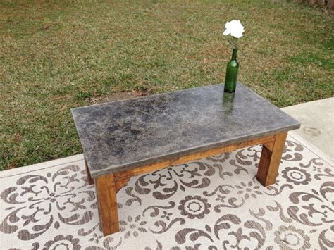outdoor concrete coffee table for gus