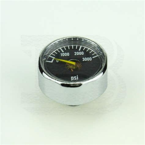 Manometer 3000 Psi new paintball pcp mini 3000psi air pressure manometre manometer 1 8npt silver in paintball