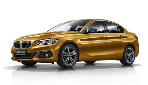 bmw in china bmw 1 series sedan launched in china only for china image