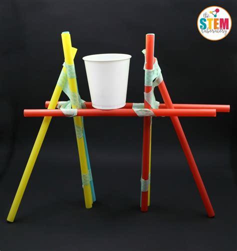 build a bridge science activity for kids bridge designs straw bridges straw bridge pennies and bridge