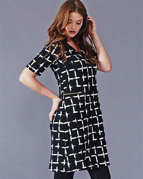 Gamis Dress Simply Look Sl 0316015 simply be grid print tunic dress fashion world