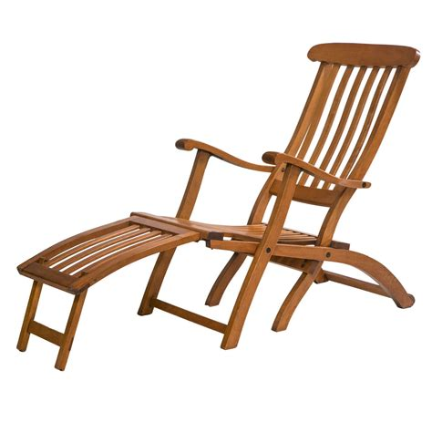 fruit wood deck chair at 1stdibs