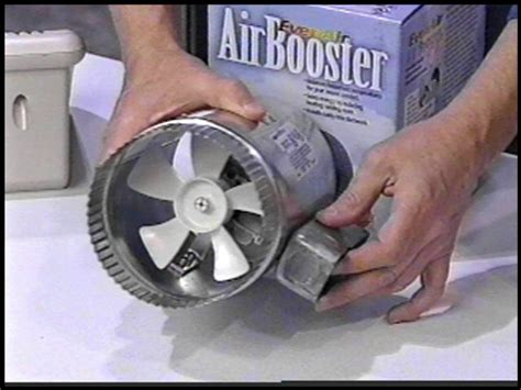 air duct booster fan with pressure switch air duct booster fans