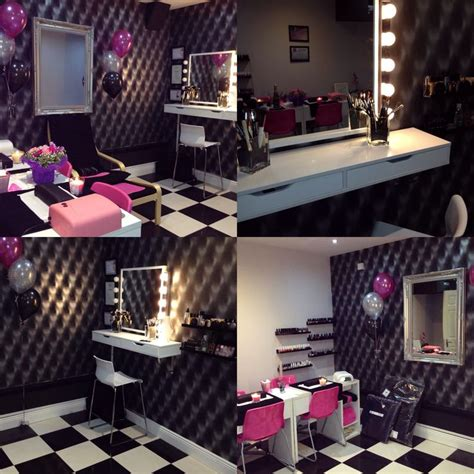 Vanity Room Salon by Salon Makeup Station Vanity Mirror With Lights