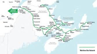 greyhound canada map routes schedules maritimebus