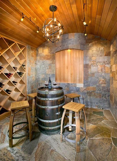 wine home decor 19 interesting ways of using wine barrels in home d 233 cor