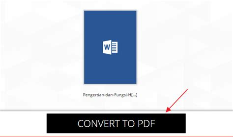 convert pdf to word lengkap 2 cara mengubah word ke pdf untuk pemula lengkap gambar