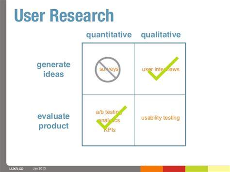 generating themes qualitative research lean ux week 2013