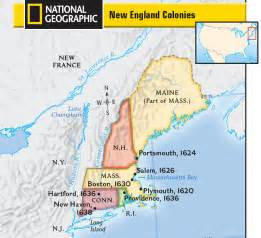 colonie map derrah kathryn colonies textbook chapter links page