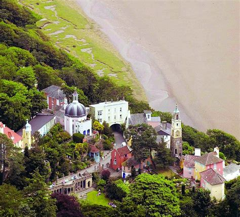 Mediterranean Design Style - a winter stay in the welsh village the beatles loved welcome to portmeirion where