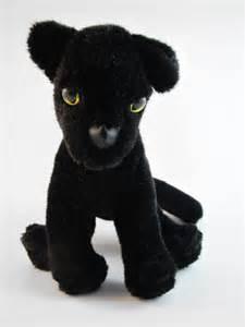 Jaguar Plush Handmade Plush Stuffed Animal Panther Jaguar Cat Cub