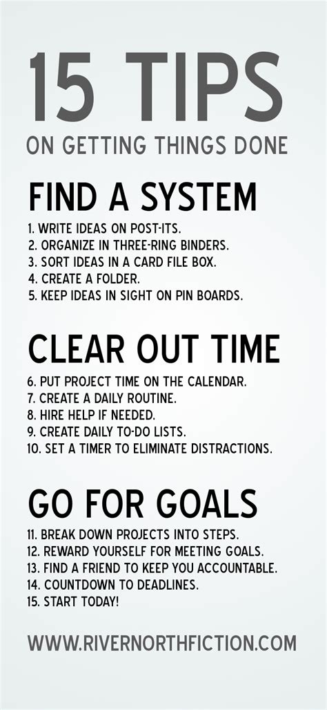 Tips On A For The Time by Quotes About Getting Things Done Quotesgram