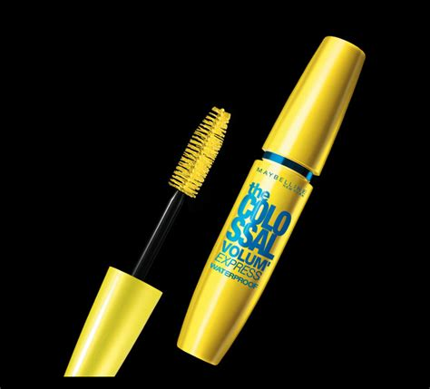 Mascara Maybelline Volume volum express the colossal waterproof mascara maybelline