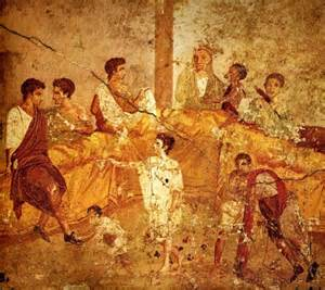what did the romans eat food and drink in ancient times