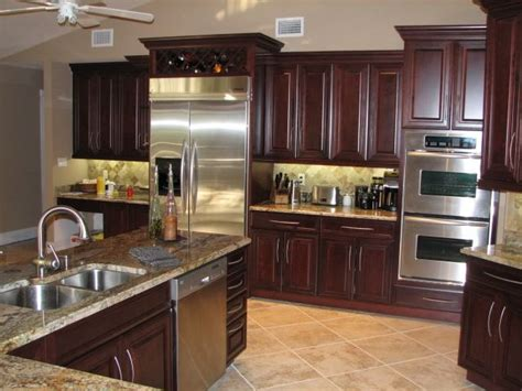 cherry cabinets kitchen pictures love the cherry cabinets home design pinterest