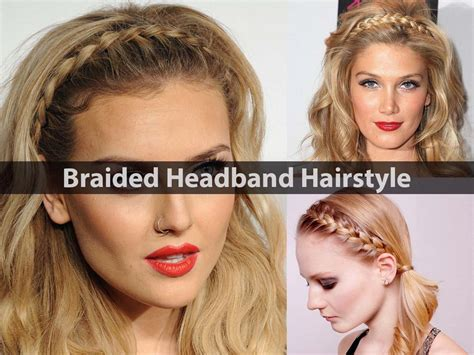 head bands for women over 60 braided headband hairstyles how to style video tutorial