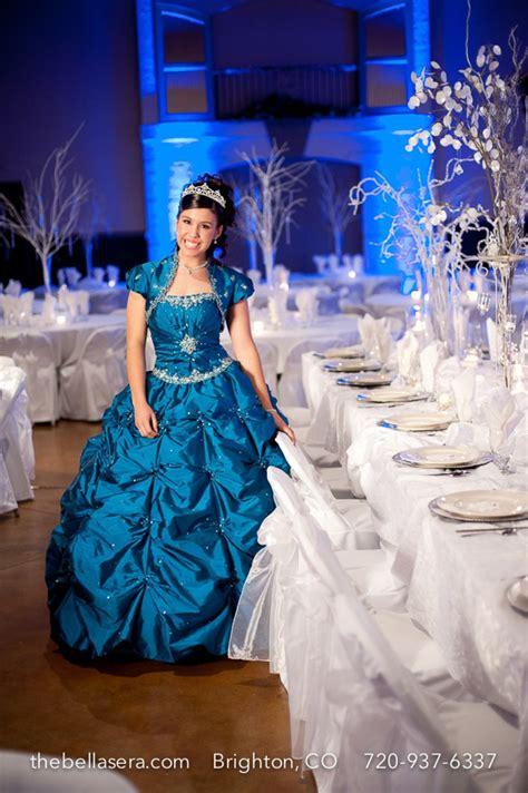 quinceanera themes for winter winter wonderland quinceanera bella sera denver wedding
