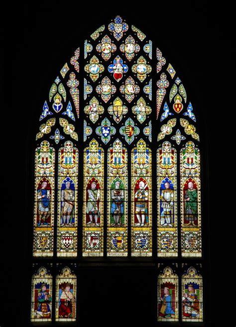 The Of The West Window a tour of st laurence s the parish church of st laurence ludlow